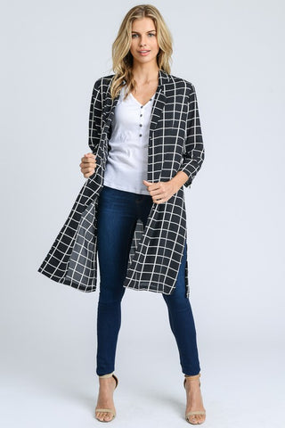 Chic & Checkered Jacket