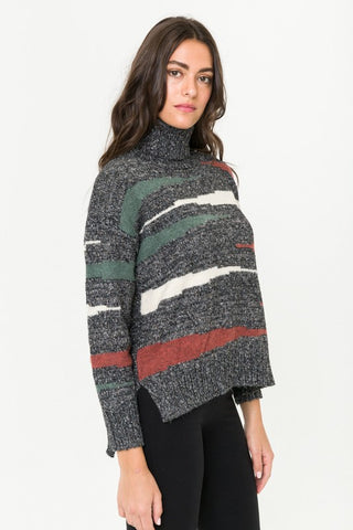 Scribbled & Savvy Stripe Sweater