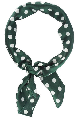 Polkdot Play Scarf- Green