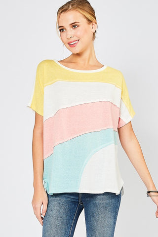Color Combo Tee