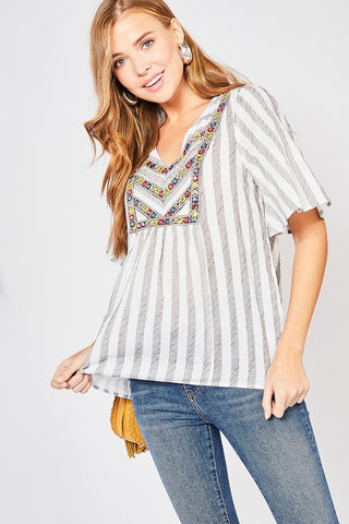 Mirror Fiesta Blouse