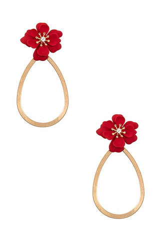 Elegant Loop Earrings - More Colors Available
