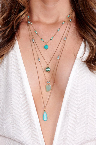 Timeless Turquoise Layered Necklace