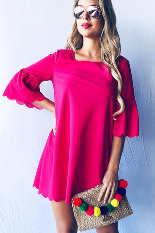 Fun in Fuchsia Dress