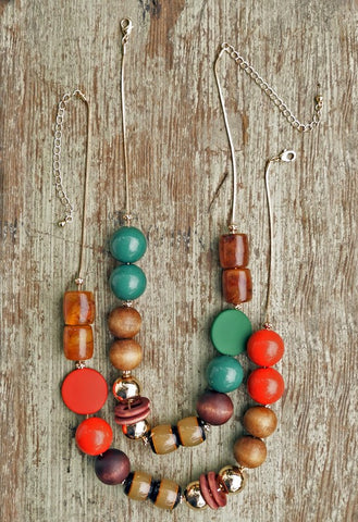 Mixed Mediums Necklace