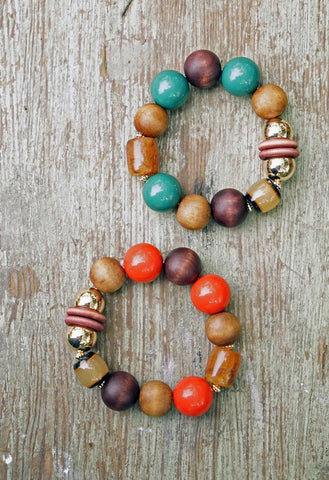 Mixed Mediums Bracelet