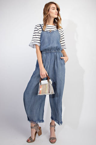Delve into Denim Romper