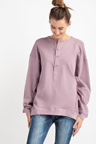 Limitless Lilac Sweater
