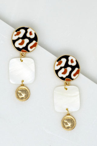 Leopard Fun Earrings