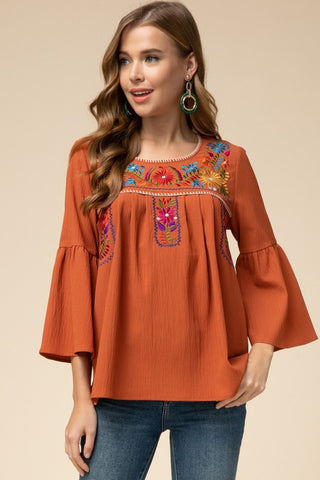 Brilliant Bell Sleeve Top