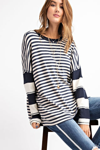 Serene Striped Top