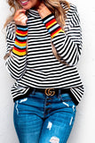 Stripe Switch Up Top