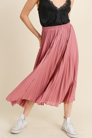 Magnetic in Mauve Skirt