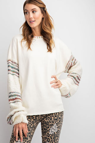 Timeless Teddy Sleeve Sweater