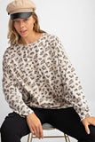 Lived in Leopard Top - Tan
