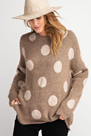 Folka Dot Sweater