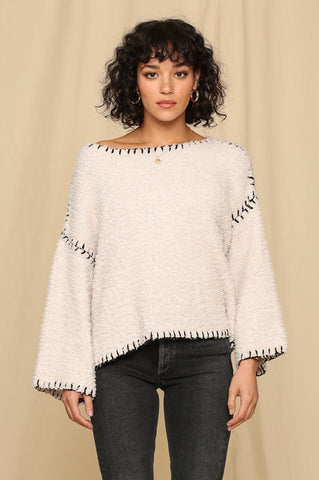 Bold Bell Sleeve Sweater
