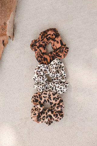 Luxe Leopard Scrunchie - More Colors Available