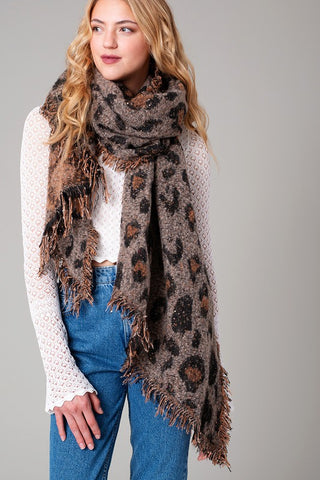 Favorite Fierce Leopard Scarf