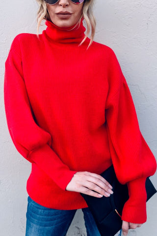 Bold in Bell Sleeves Sweater