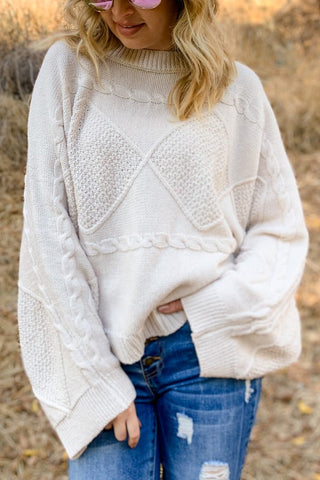 Standout Sleeve Sweater