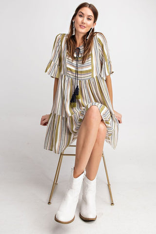 Ties & Tassels Dress