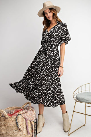 Dazzling in Dots Dress