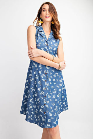 Decades Past Denim Dress