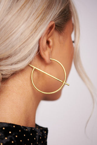 Apt & Atypical Hoop Earrings