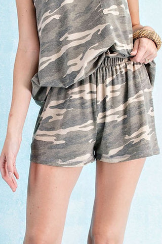 Better Than Basic Camo Short