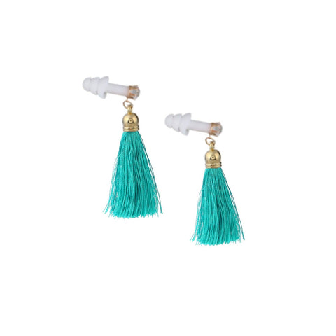 The Sleepy Cottage - Vintage Glam Rhinestone Tassel Earplugs for Sleeping