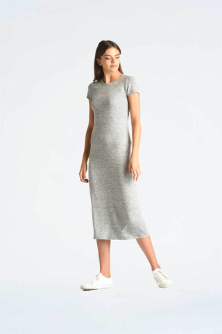 Maxi Length Cap Sleeve Dress