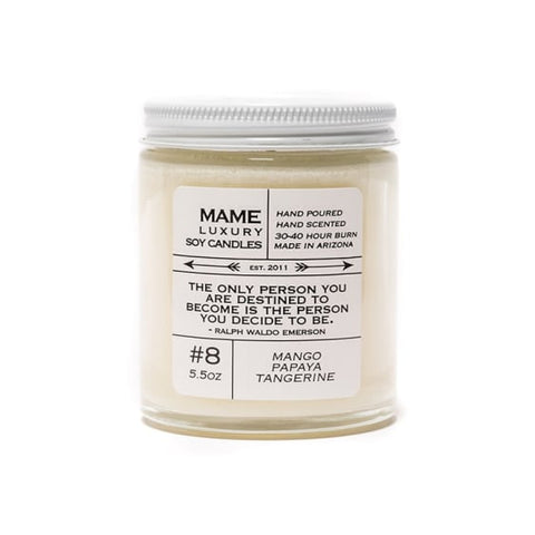 Quote Me Candle-Mango Papaya Tangerine
