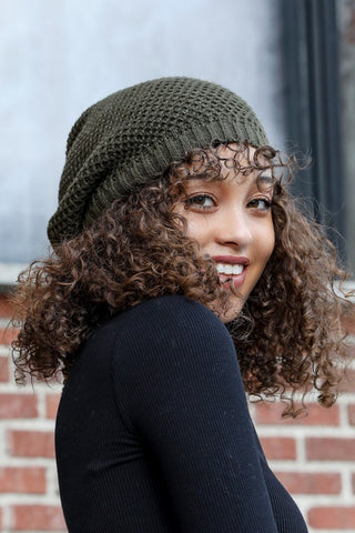 Cute in the Cold Beanie - Olive