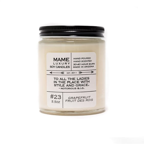 Quote Me Candle-Grapefruit Fruit Des Rois