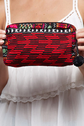 Stitched With Love Bags- Red