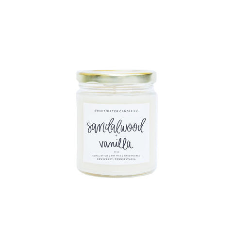 Handlettered With Love - Sandalwood Vanilla