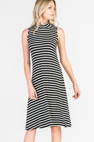 Stripe Tank Swing Dress