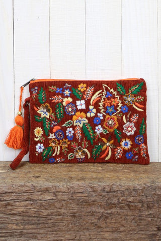 Beautiful Botanical Clutch