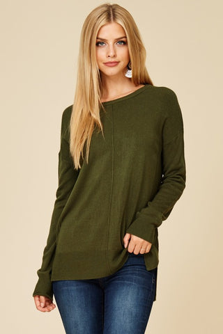 Essential Boat Neck Sweater