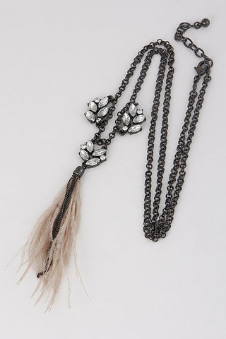 Fab Feathers Necklace