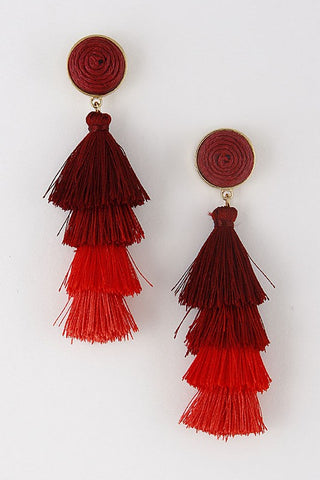 Tassel Time Earring