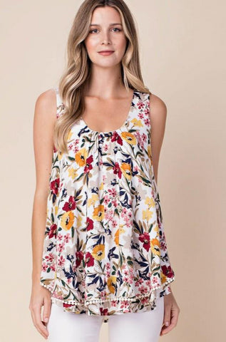 Flower Dream Layer Tank