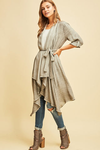 Charming Charcoal Lightweight Jacket
