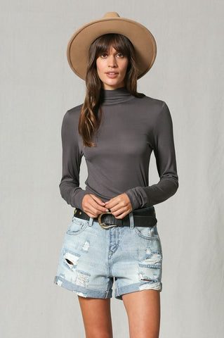 Smoothest Staple Turtleneck Top