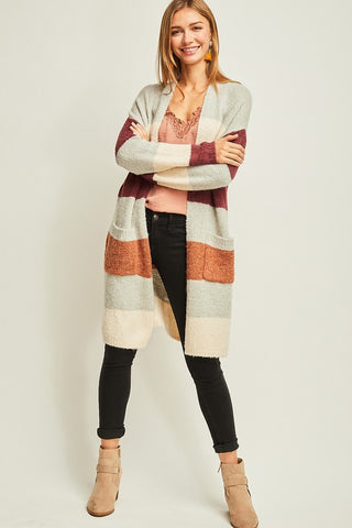 Splendid Stripe Cardigan