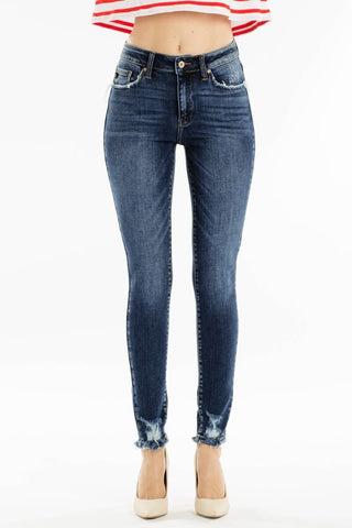 Distressed Darling Skinny Jean