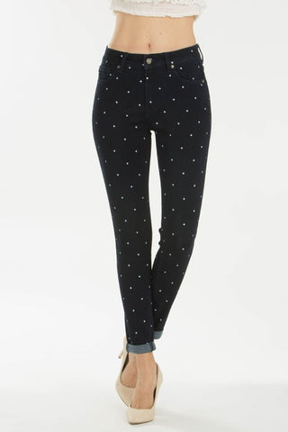 Polka Dot Party Skinny Jeans