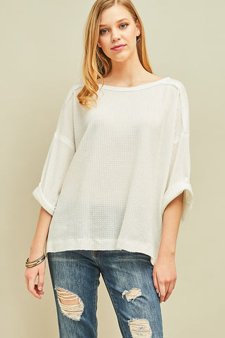 Airy Knit Top