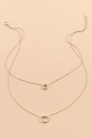 Circle Connect Necklace